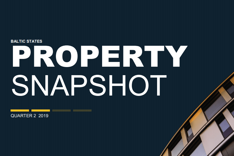 Colliers International Property Snapshot – The Baltic States Q2 2019