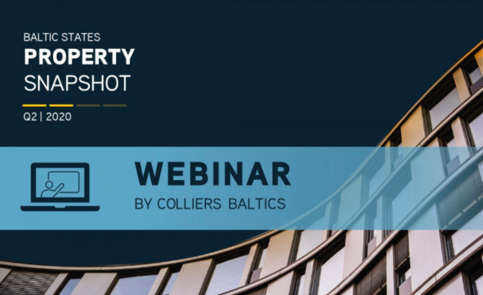 The Baltic Real Estate Market in Q2 – Beyond COVID-19: A webinar